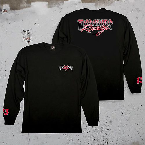 THRASHER RACING LONGSLEEVE